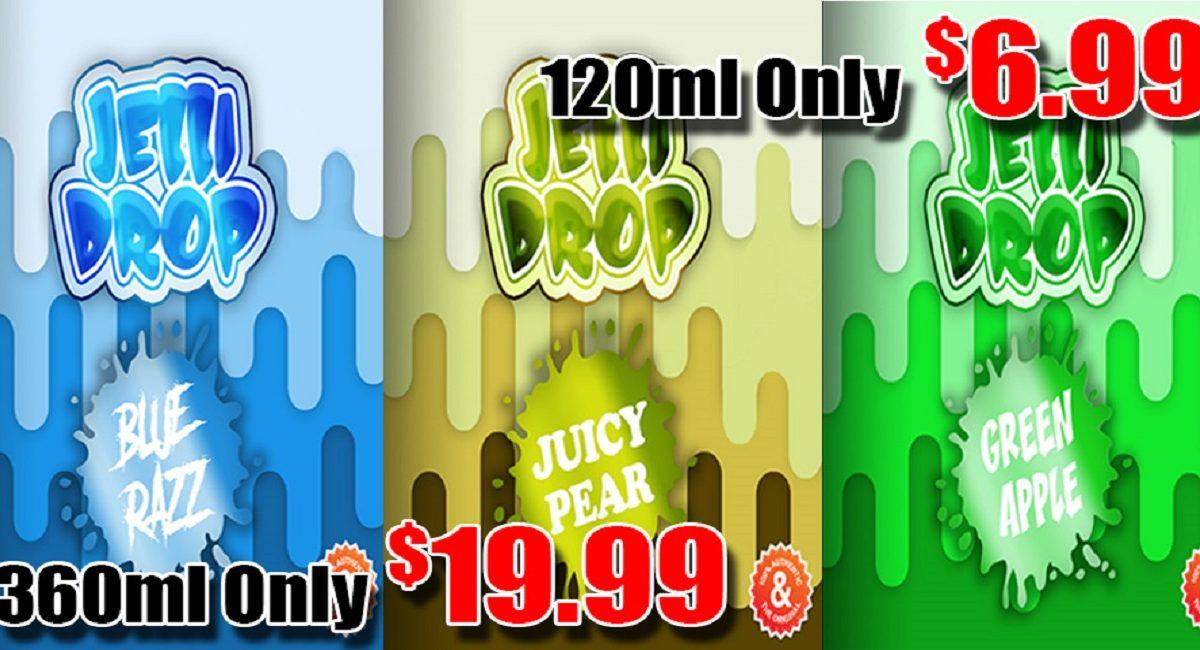 Jelli Drop E-Liquid Sale 120ml