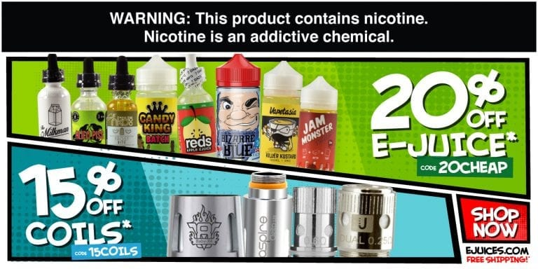 eJuices.com Coupon Code & Discount