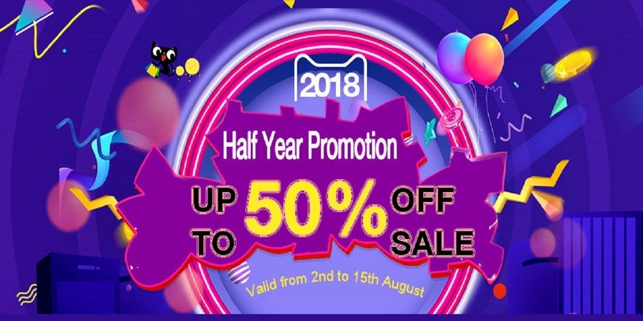 Cigabuy 2018 Half Year Promotion Sale! Save up to 50% OFF!