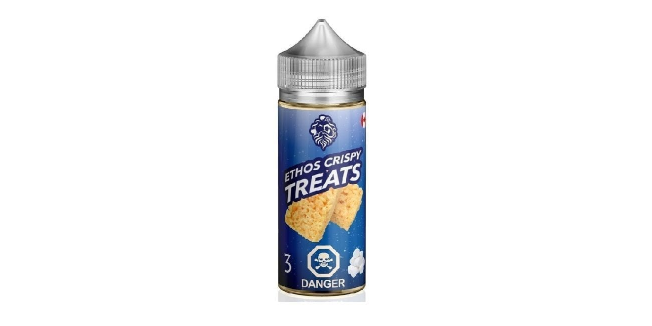 Ethos Vapors E-Liquid Crispy Treats 100ml