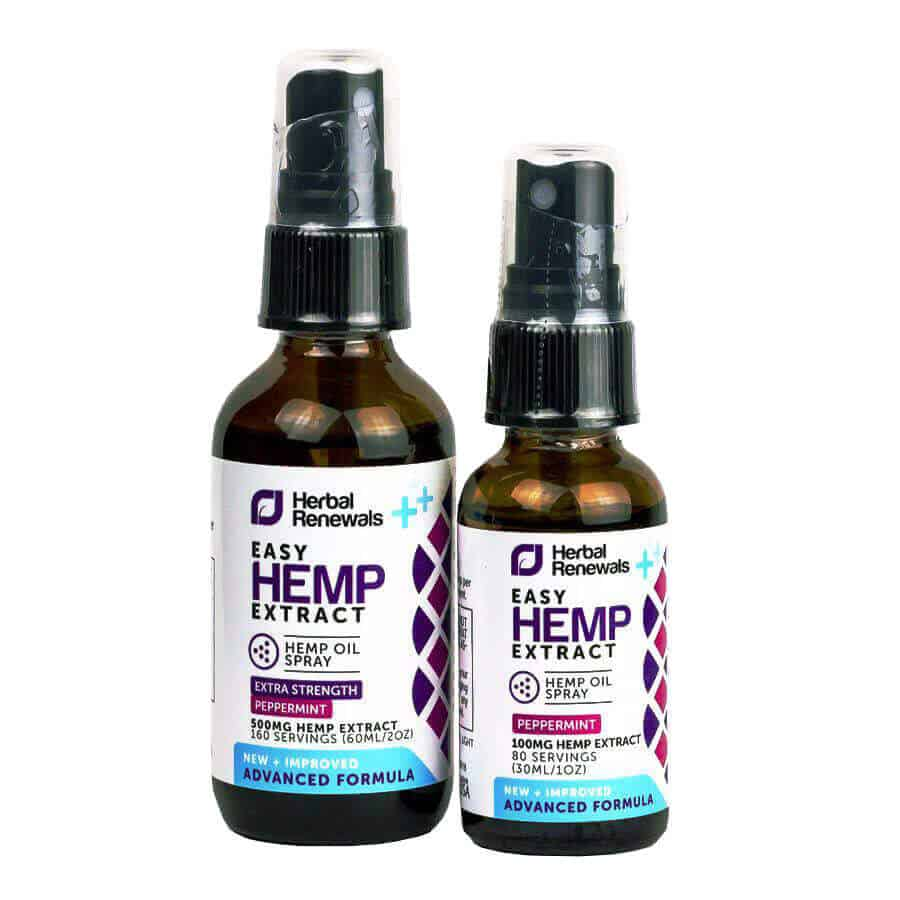 Herbal Renewals CBD Oil Herbal Spray