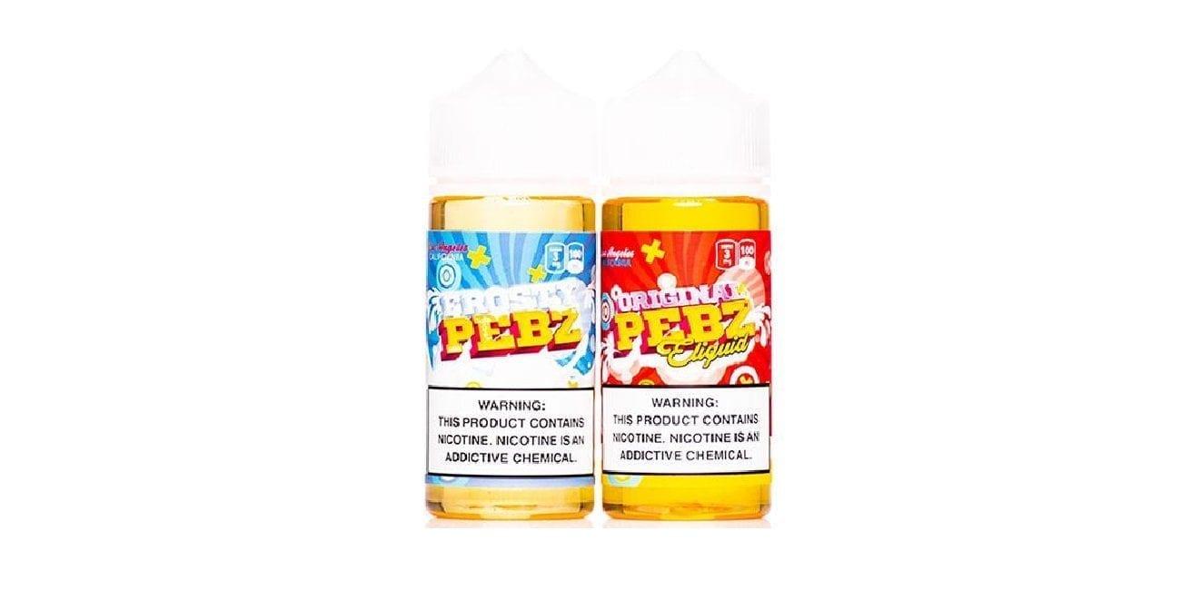 Pebz E-Juice 2 Pack Bundle
