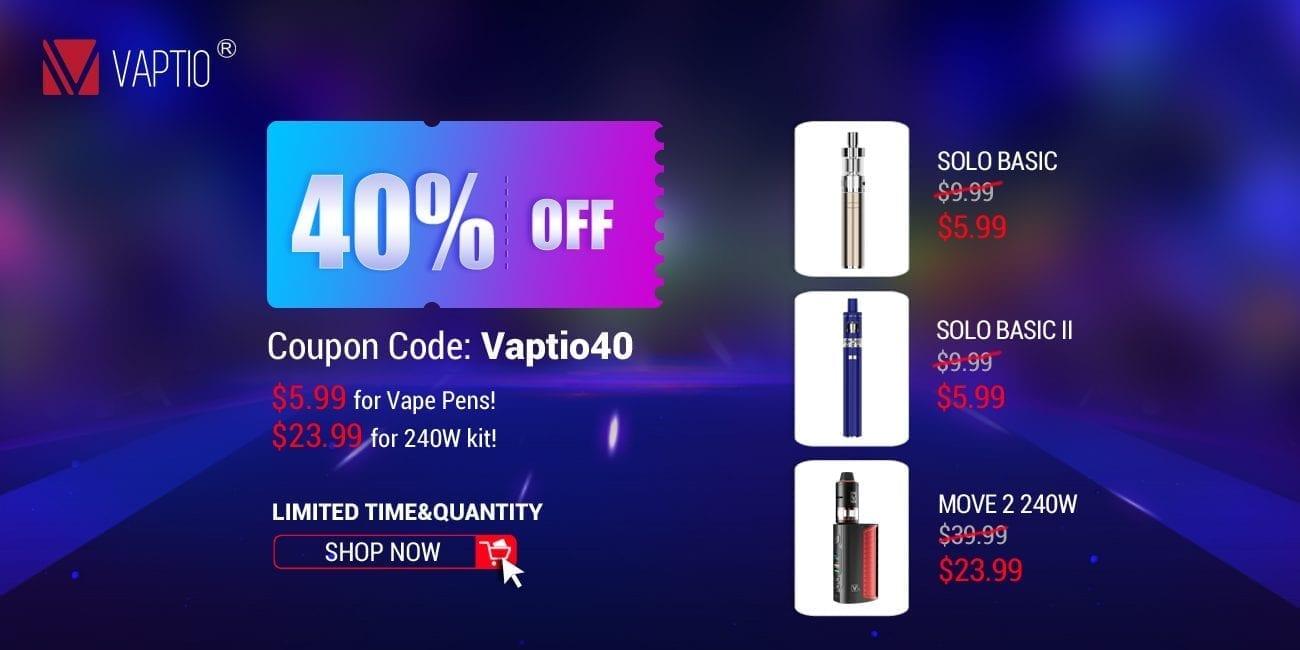 Vaptio Store Sale 2018