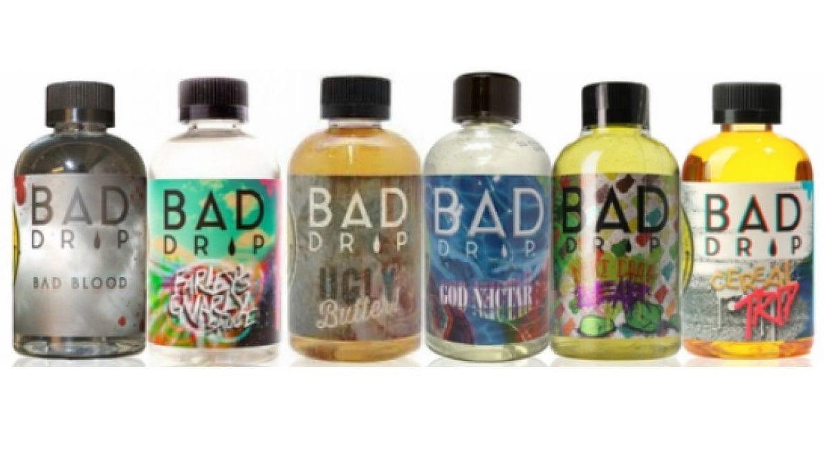 Bad Drip E-Liquid Sale! 120ml Only $18.95!