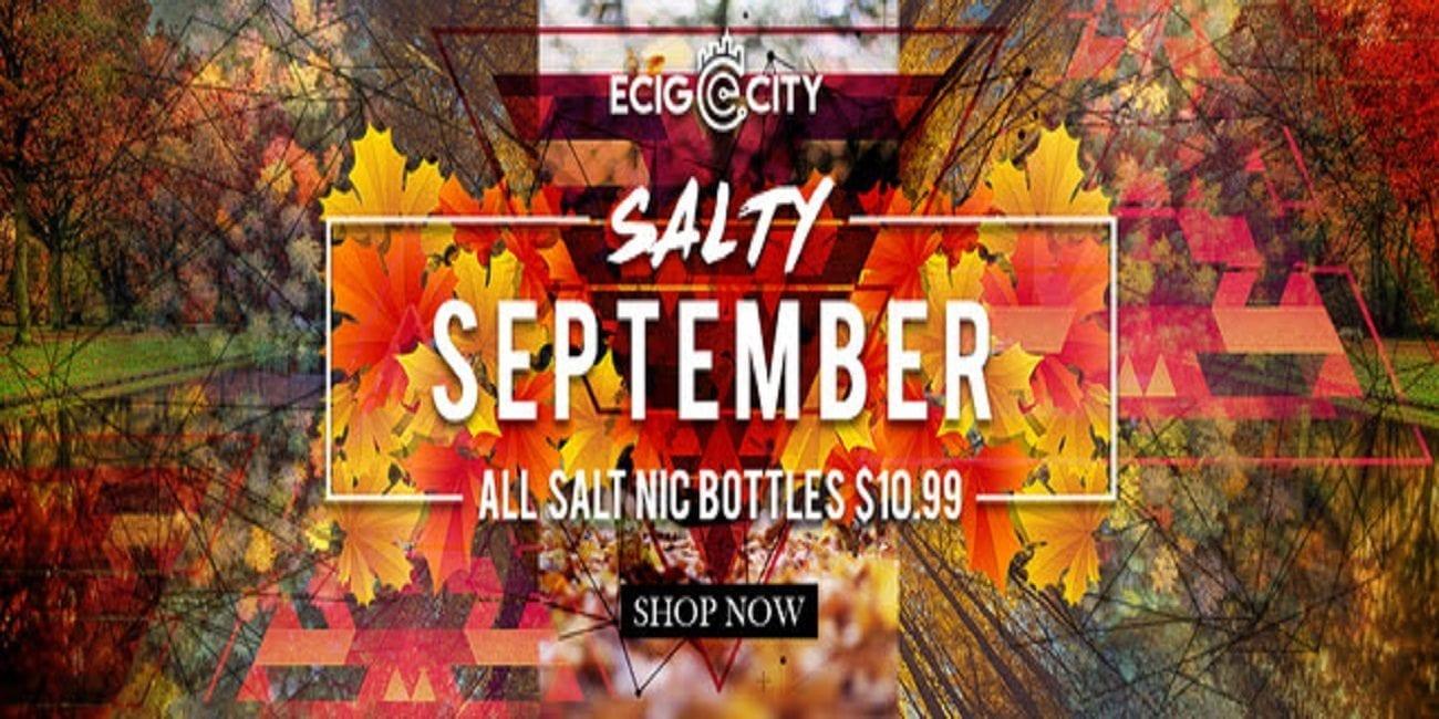 Ecig-City Salty September Sale 2018