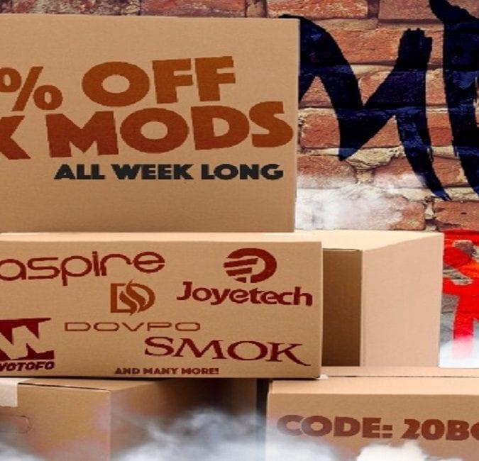 MyFreedomSmokes Box Mod Sale 2018