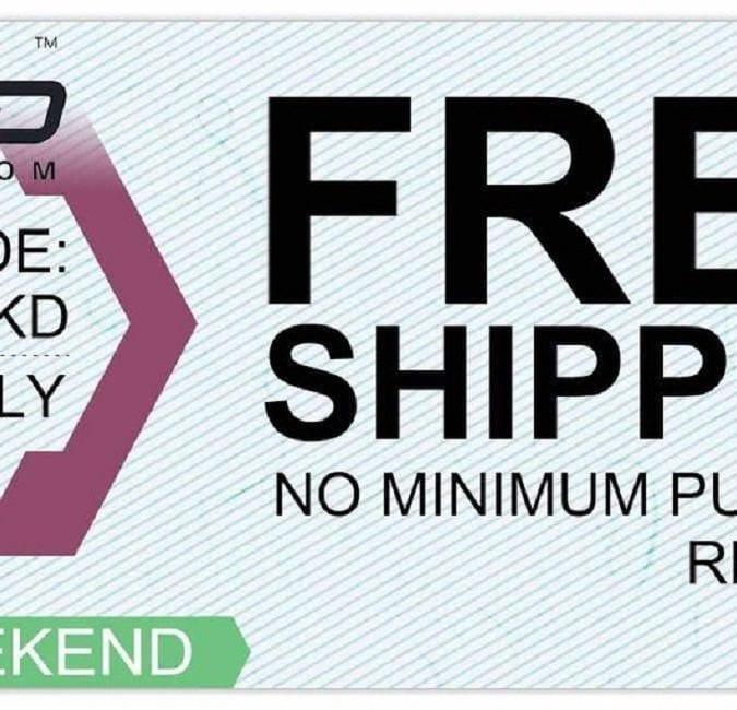MyVPro Free Shipping Weekend 2018