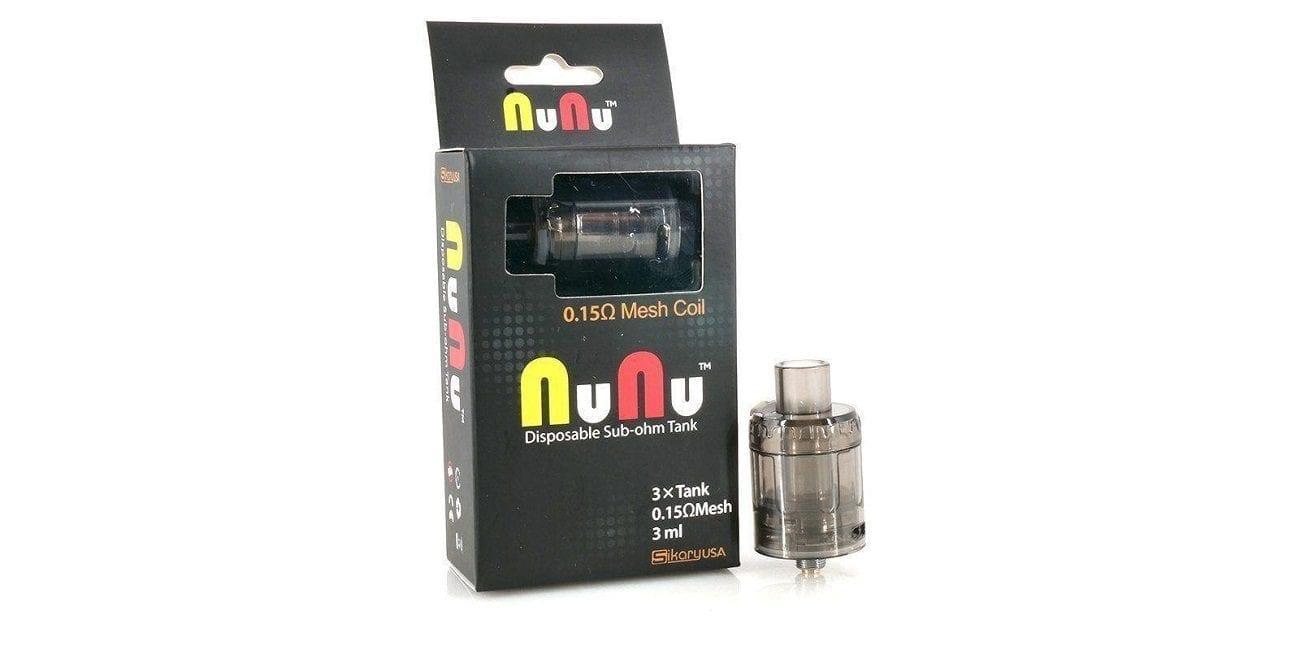 Sikaryusa Nunu Disposable Tank 3 Pack
