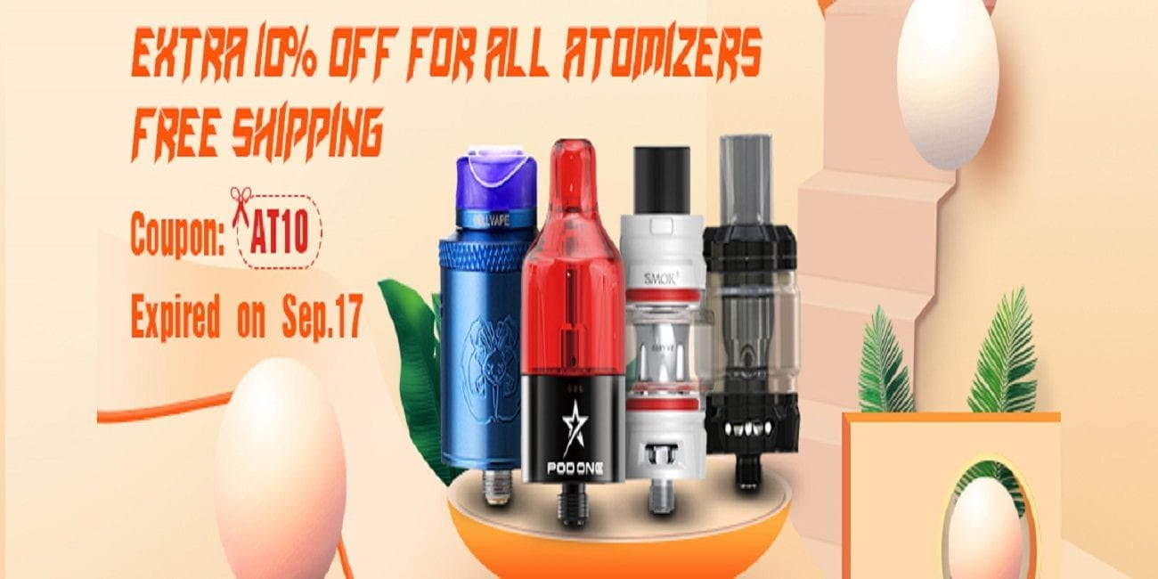 Sourcemore Atomizers Sale 2018