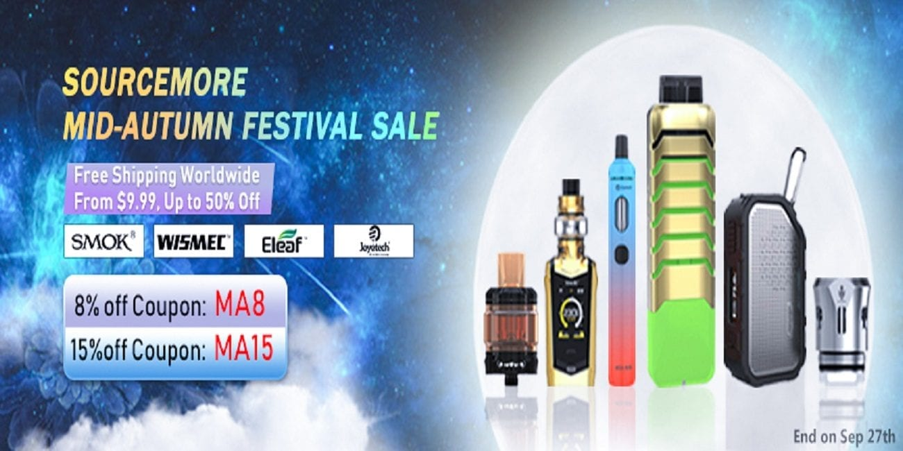 Sourcemore Mid-Autumn Festival Sale! Save up to 50% OFF + FREE Worldwide Shipping!