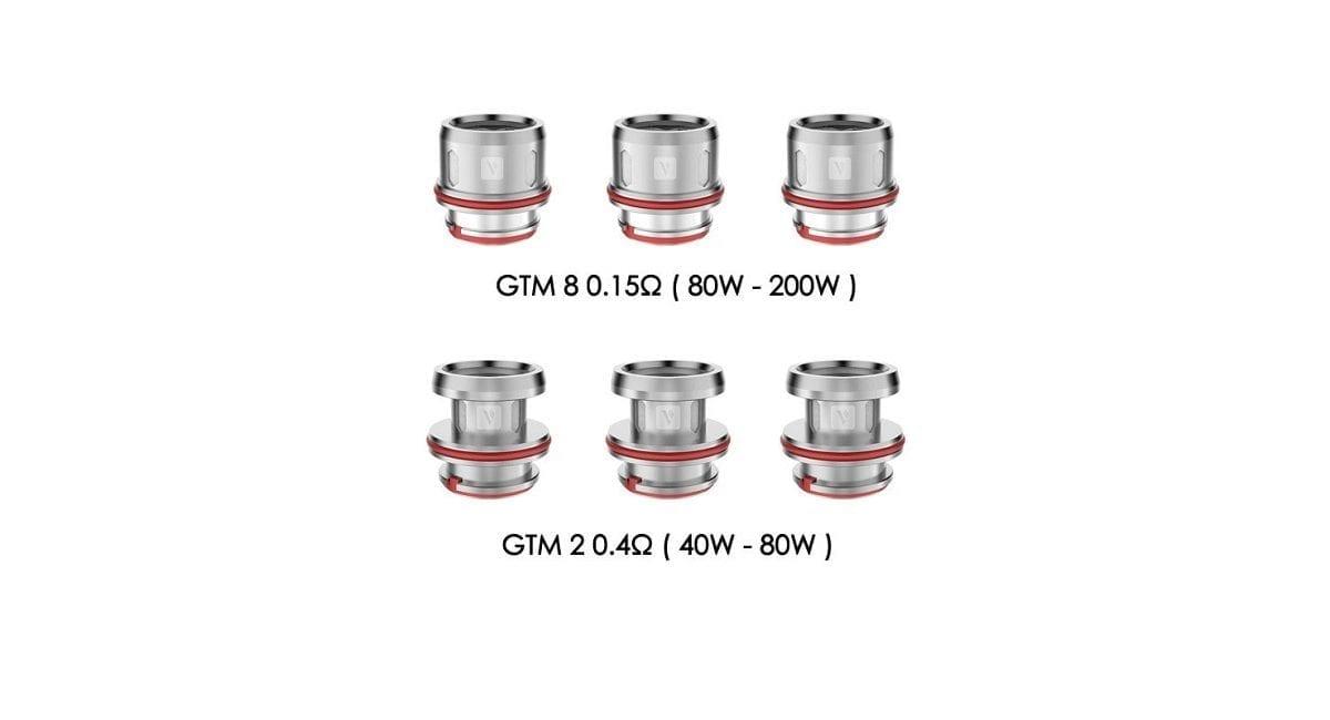 Vaporesso Cascade GTM Replacement Coils 3 Pack