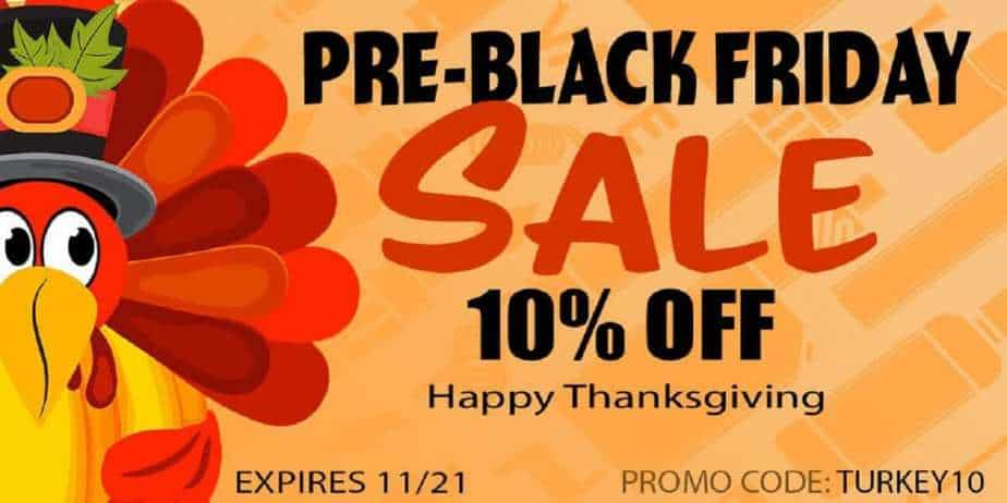 EJuice Connect Pre-Black Friday Sale 2018