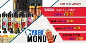 Hot Deal Vapors Cyber Monday Deals List 2018
