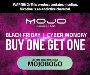 Mojo Vapor Black Friday Deals List 2018