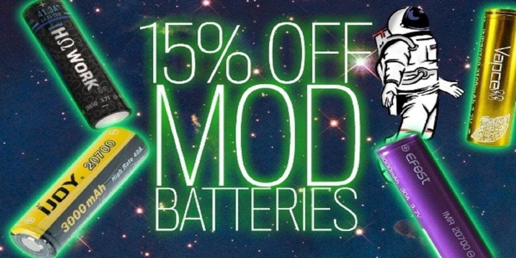MyFreedomSmokes Mod Batteries Sale 2018