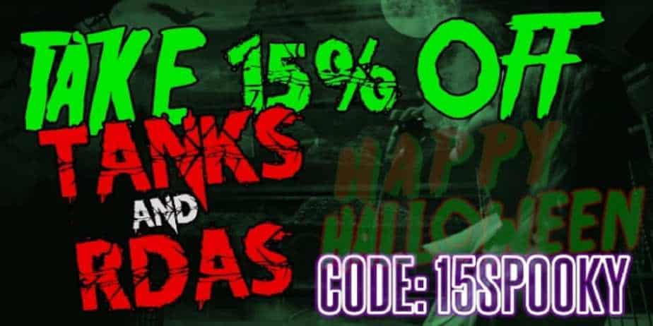 MyFreedomSmokes Tanks and RDAs Sale 2018