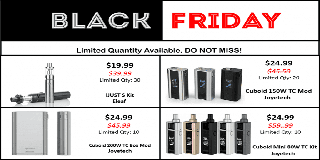 MyVpro Black Friday Specials 2018