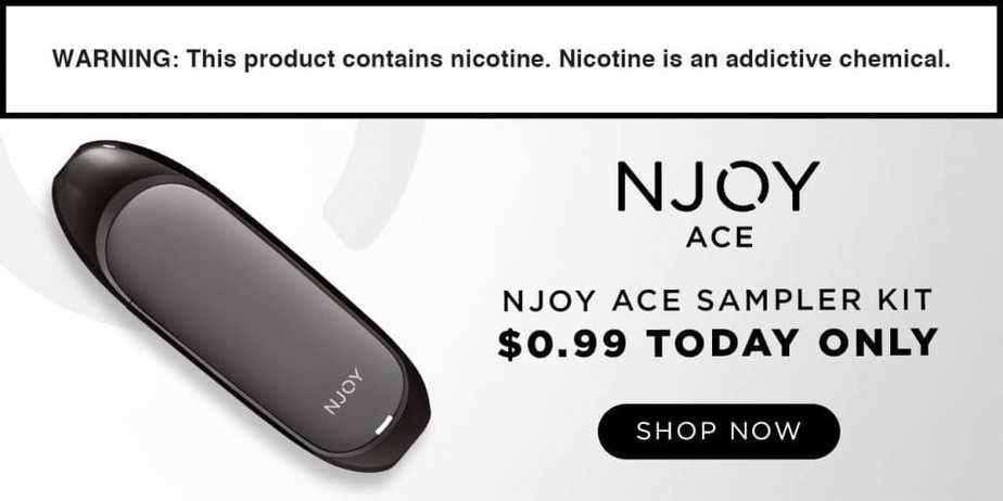 NJOY Black Friday Sale! Ace Sampler Kit Only $0.99! - Best ...