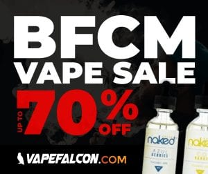 VapeFalcon Black Friday Deals List 2018