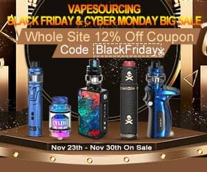 VapeSourcing Black Friday Deals List 2018