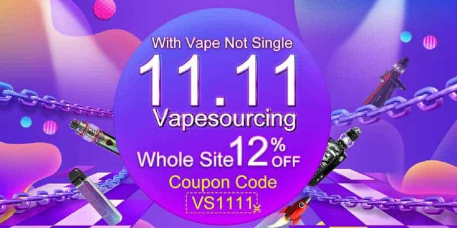 VapeSourcing Double Eleven Sale 2018