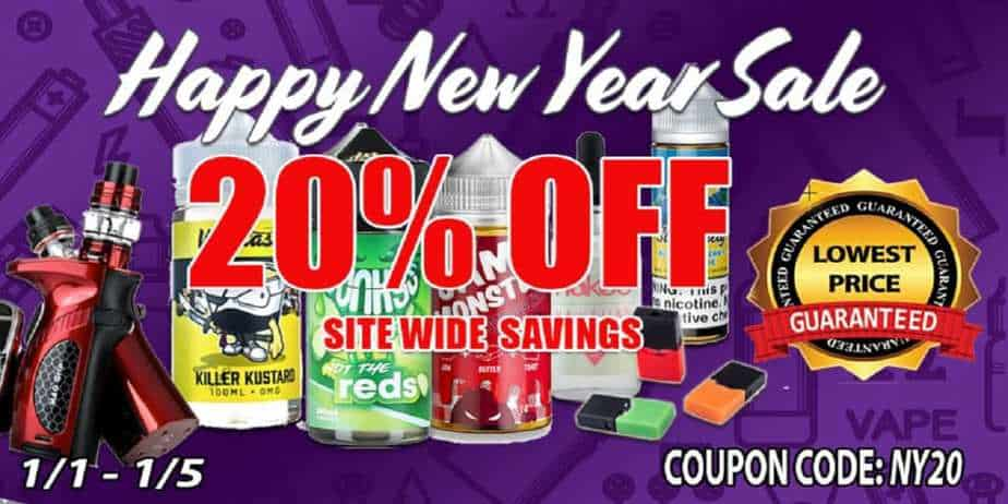 EJuice Connect New Year Sale 2019