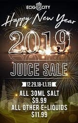 Ecig City New Year Deal List 2019