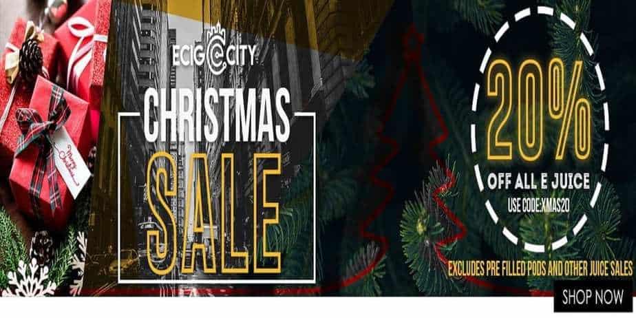 Ecig City Xmas Sale 2018