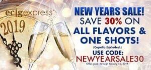 EcigExpress New Year Deal List 2019