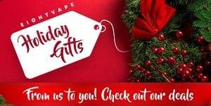 EightVape Christmas Deal List 2018