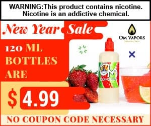 Om Vapors New Year Sale 2019