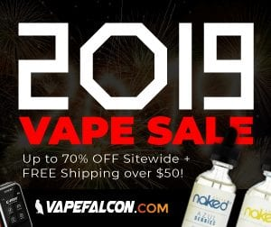 VapeFalcon New Year Deal List 2019