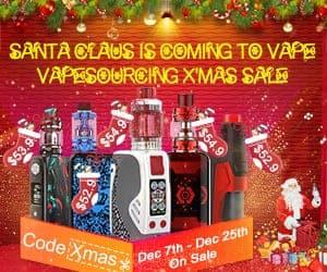 VapeSourcing Christmas Deal List 2018