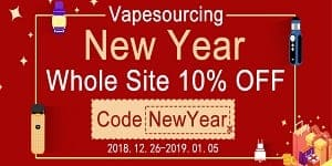 VapeSourcing New Year Sale 2019
