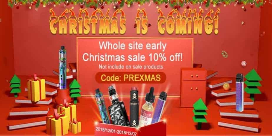 VapeSourcing Pre Christmas Sale 2018