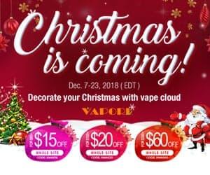 Vaporl Christmas Deal List 2018
