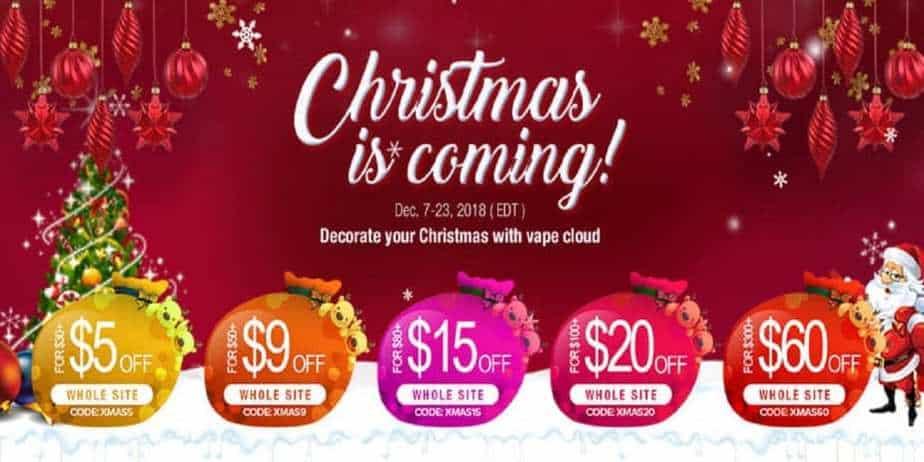 Vaporl Christmas Sale 2018