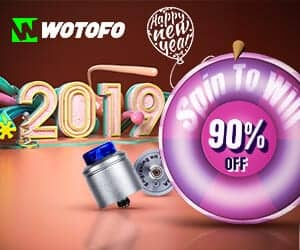 Wotofo New Year Vape Deal List 2019