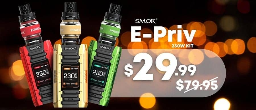 EightVape Popup Smok E-Priv Kit