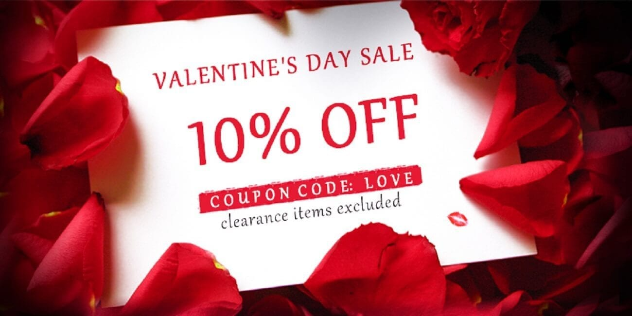Sourcemore Valentines Day Sale 2019