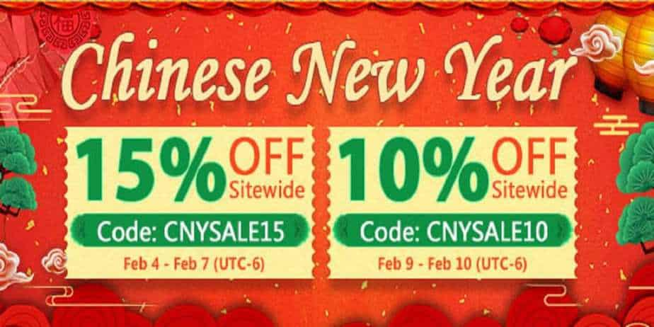Fasttech Chinese New Year Sale 2019