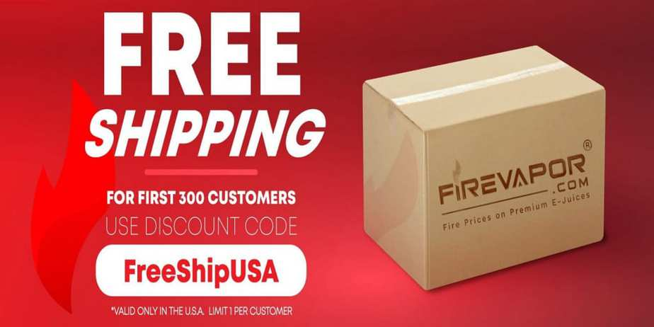 Fire Vapor Free Shipping Sale