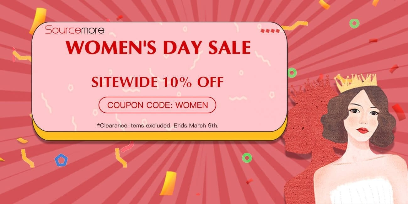Sourcemore Woman's Day Sale