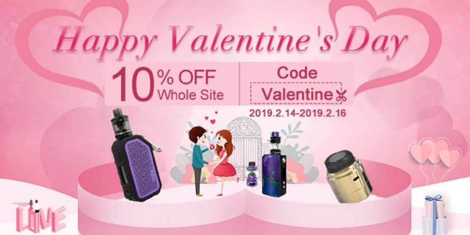 VapeSourcing Valentines Day Sale 2019