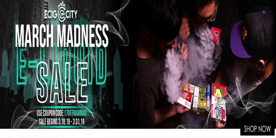 Ecig-City March Madness Sale 2019