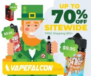 VapeFalcon St Patricks Day Deal List 2019 (NEW)