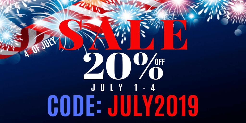Eciggity July 4th Sale! 20% Off Site-Wide!