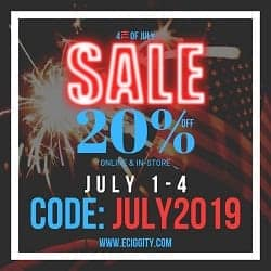 Eciggity Independence Day Sale