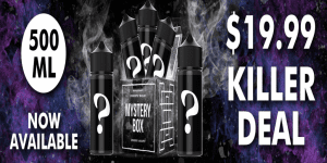 Flawless Vape Shop 500ml Mystery Box Sale