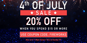 Giant Vapes July 4th Sale 2019